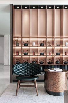 建E室内设计网 Pharmacy Design, Retail Design, Scandinavian Interior, Modern Interior, Furniture Styles, Furniture Design, Chinese Tea Room, Japanese Interior, Commercial Design