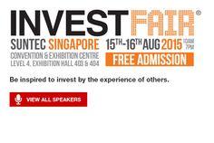 Invest Fair Free Admission, Singapore, Investing, Coding, Programming