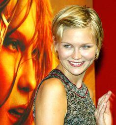 kirsten dunst short hair | Kirsten Dunst