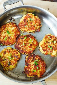Bacon, Spaghetti Squash, and Parmesan Fritters. (I used turkey bacon and brown rice flour.)