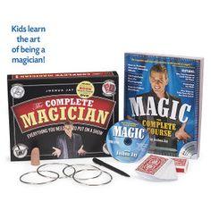 The Complete Magician DVD Kit - Educational Toys, Specialty Toys & Games - Creative, Award Winning for Science, Math and More | Young Explorers