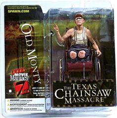 McFarlane Toys Movie Maniacs Series 7 Action Figure Old Monty [Texas Chainsaw Massacre]
