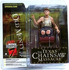 McFarlane Toys Movie Maniacs Series 7 Action Figure Old Monty [Texas Chainsaw Massacre]