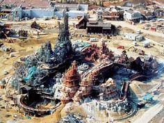 construction disneyland paris