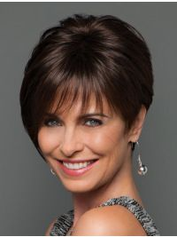 Elevate Styles offers a variety of fashion short wigs. For more information on all of our new short wigs, visit Salon Sleek By Eva Gabor Monofilament Wig on our site today! Haircut Styles For Women, Short Haircut Styles, Hair Styles, Remy Human Hair, Human Hair Wigs, Gabor Wigs, Monofilament Wigs, Wispy Bangs, Short Wigs