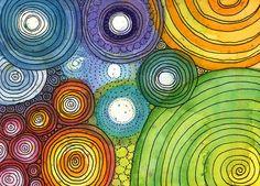 PRINT DoodlePainting: Harmonium