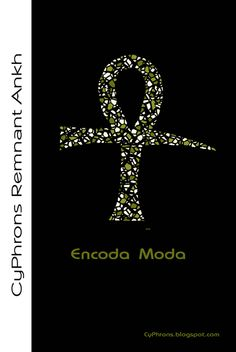 """Master Remnant Stain Glass Ankh  Networml glyph representing the legendary """"constitution"""" or """"code"""" of the ever present angelic Kemetic Remnant. Copyright © - All Rights Reserved... The dawn of a new saga about the future is here... It is now! Is it you? See it at http://CyPhrons.blogspot.com  #ankh #kemetic #CyPhrons #networml #egyptian #stainglass #fantasy #faith #hope #scifi #Africa"""