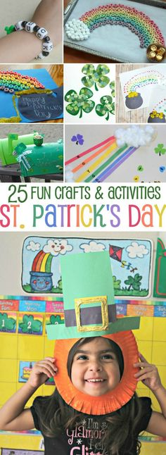 25 Fun St. Patrick's Day Crafts and Activities for Kids - simplytodaylife.com