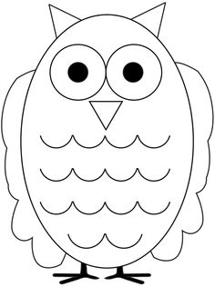 Owl template 2