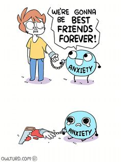 Friends Forever!   Illustration by Owl Turd Comics