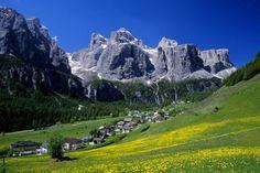 Colfosco in the Summer (1,645 m)