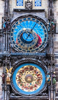 Get Prague Astronomical Clock photos and images from Picfair. Find high-quality stock photos that you won't find anywhere else. Unusual Clocks, Cool Clocks, Beautiful Buildings, Beautiful Places, Steampunk Witch, Prague Astronomical Clock, World Clock, Clock Art, Antique Clocks