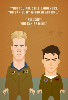 Wingman Top Gun Quotes