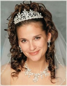 Stunning Tiara and Bridal Jewelry! Visit affordableelegancebridal.com for fabulous wedding accessories!