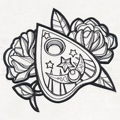 Mystique - Planchette design (UT16040) from UrbanThreads.com