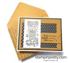 SAVE UP TO 50% ON STAMPIN' UP! retiring products. Learn to create today's Father's Day Card & more blog hop card ideas!
