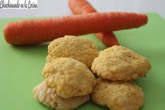 Mirad que galletas de zanahorias tan tan sanas!!!!!!!
