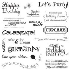 A site full of birthday sentiments