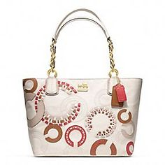 new madison whipstitch tote By Coach