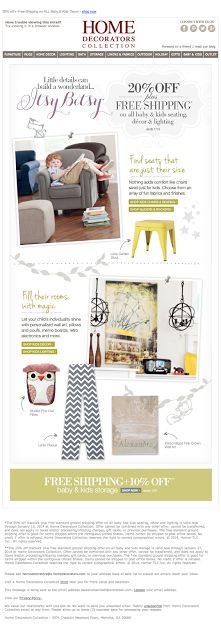 Home Decorators Collection email 2014