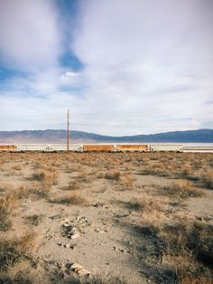 Searles Valley, CA #mojave #desert #train