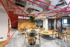 mode:lina™ completed the design for co-creating space Brian Embassy, located in Warsaw, Poland. Brain Embassy offers spaces where you can work Warsaw Poland, Co Working, Coworking Space, Create Space, Commercial Design, Brain, Offices, Architecture, Office Designs