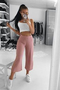Sport chic feminino verao Ideas for 2019 Teen Girl Outfits, Mode Outfits, Outfits For Teens, Sport Outfits, Teenager Fashion Trends, Teen Fashion, Fashion Outfits, Womens Fashion, Classy Outfits