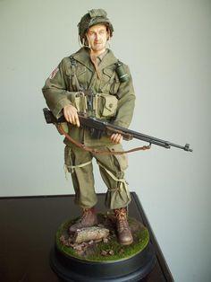 US Airborne BAR gunner