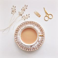 Thank goodness for tea (and a bit of sparkle) in the morning! #lovetea #lovesparkle