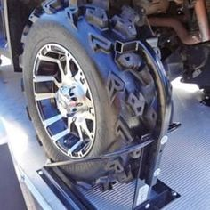 You rely on your Trailer Tire Chocks daily to get you where you need to really go. Despite that, tire care is one of the ver Atv Trailers, Trailer Tires, Trailer Build, Car Trailer, Utility Trailer, Polaris Ranger, Polaris Rzr, Scooter Motorcycle, Bicycle Sidecar