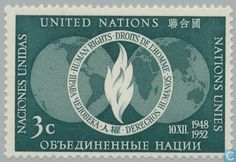 1952 United Nations - New York - Human Rights