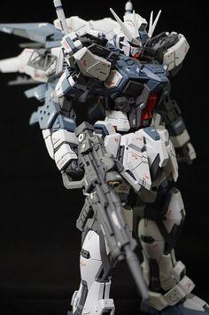 GUNDAM GUY: MG 1/100 GAT-X105b Aether Strike Gundam - Customized Build