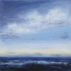 "Saatchi Online Artist Tricia Beck Strickfaden; Painting, ""Azure Seas"" #art.  Fine Art Prints starting at $113. Available now."