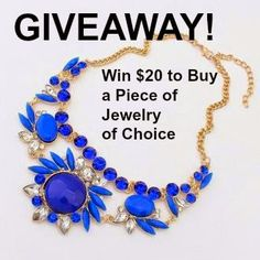 MyStyleSpot: GIVEAWAY! WIN a Piece of Jewelry of Choice! CLICK TO ENTER! ENDS JULY 29.2014  OPEN WORLWIDE!  #contest #win #sweepstakes #jewelry #giveaway #jewelrycoco #blog #blogger #mystylespot #necklace #ring #bracelet #bangle #earrings #pendant #fashion #style #Accessories #shop #Shopping #women