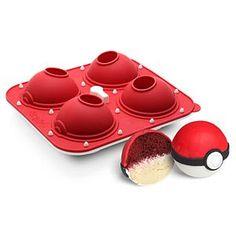 Poké Ball Cupcake Pan