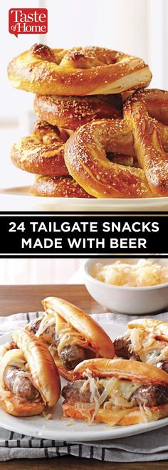 Beer snack Ideas - 24 Tailgate Snacks Made with Beer. Healthy Superbowl Snacks, Game Day Snacks, Tailgating Recipes, Tailgate Food, Beer Recipes, Game Day Food, Fall Recipes, Cooking Recipes, Sweet Potato Skins