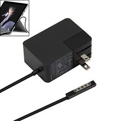 YIPBOWPT Surface Portable Power Charger for Microsoft Windows Surface RT / Surface 2 1512 1516 Tablet 12V 2A 24W Power Supply Adapter #YIPBOWPT #Surface #Portable #Power #Charger #Microsoft #Windows #Tablet #Supply #Adapter