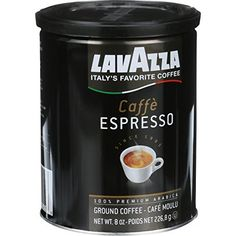 Lavazza Coffee Grnd Espresso Can -- You can get more details by clicking on the image. (This is an affiliate link and I receive a commission for the sales)