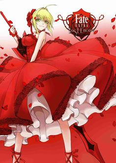 "Saber (Nerón Claudio César Augusto Germánico) - Fate/Extra ""Last Encore"" - Fate/Extra CCC - Fate/Extella - Fate/Grand Order"