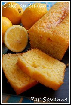 Cake moelleux au citron - Aiguilles & Gourmandises