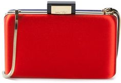 Lanvin colour block box clutch