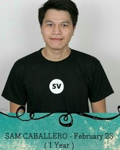 Happy 1st year with Staff Virtual Sam! Wishing you more success and happiness!  #HappyAtSV #SVniversary