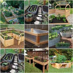 49 Beautiful DIY Raised Garden Beds Ideas http://ift.tt/2EFWtzS  If you are planning to a vegetable garden the best place to plant it may not be in the ground many gardeners today use raised beds which lift the plants and their roots above ground level. There are a number of good reasons to garden this way; you can choose your soil for good plants and good harvest. Raised bed also brings the garden up where its easier to reach for weeding and harvesting.  See all 49 Raised Bed Garden Ideas…