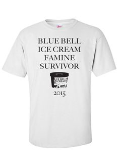 I Survived the Blue Bell Ice Cream Famine of 2015 #BlueBell🍦