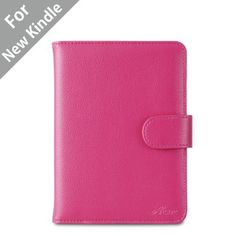 "Acase(TM) Classic Kindle Leather Case (Hot pink) for 4th Generation 6"" Kindle Wi-Fi w/o Keyboard (Not for Kindle Touch) by Acase. $14.95. Get the best case for Kindle 4 from the best selling iPAD case manufacture Acase. This case has a black leather exterior with a matching black soft micro fiber padding in the interior. The leather case provides complete protection for your Amazon kindle reading device. The case has flexible straps on top corners to secure Ama..."