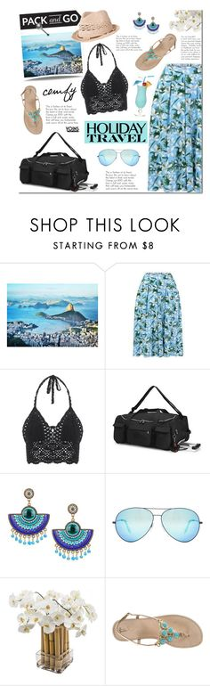 """""""Pack and Go: Rio de Janeiro"""" by mada-malureanu ❤ liked on Polyvore featuring Brewster Home Fashions, Victoria Beckham, Sia, Lilly Pulitzer, Billabong and Packandgo"""