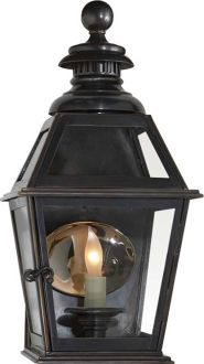 exterior lights by Circa, liking the mirrored backplate