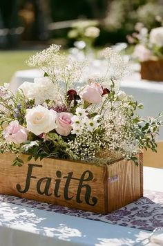 Perfect for a rustic late spring/early summer wedding!
