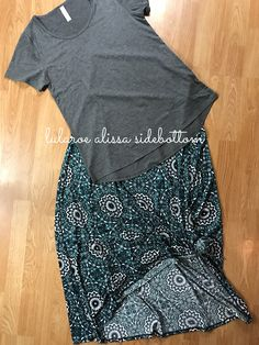 Gorgeous LuLaRoe Maxi paired with a classic