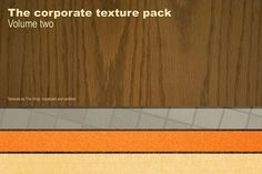 The corporate texture pack volume 02 Graphics This is a strange texture collection. This texture pack is a series of textures captured in one of t by The Shop